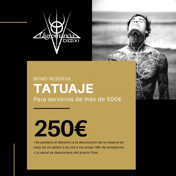 tatuaje +500 - nigromancia - tatuajes en valencia